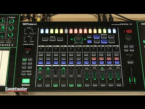 Roland AIRA MX1 Mix Performer Demo  Sweetwater Sound