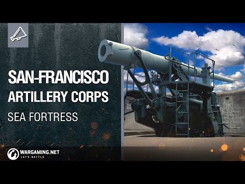 World of Warships - San-Francisco Artillery Corps