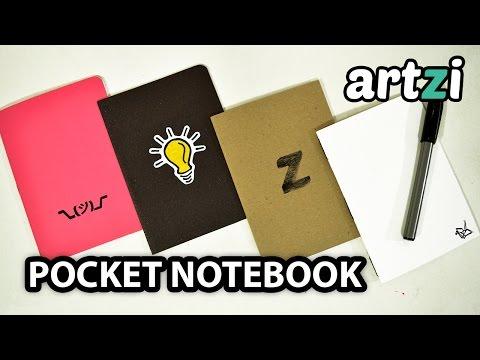 DIY Pocket Notebook :: 3 Easy Ways to Bind