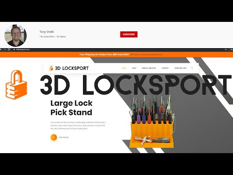 [336] Lock Sport Update | Check Out www.3DLocksport.com