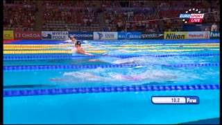 200m breastroke men's final World Swimming Championships Barcelona 2013