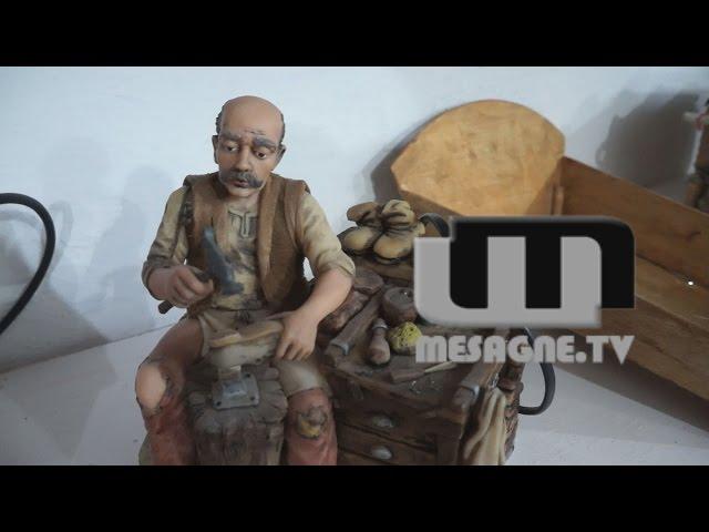 Damiano Magrì e i suoi presepi