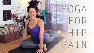 3 Stretches For Tight Hips & Mobility - Yoga For Hip Pain