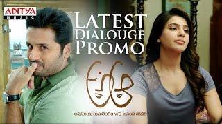 Download Hindi Video Songs - A Aa Dialogue Promo | A Aa Telugu Movie | Nithiin, Samantha, Trivikram, Mickey J Meyer