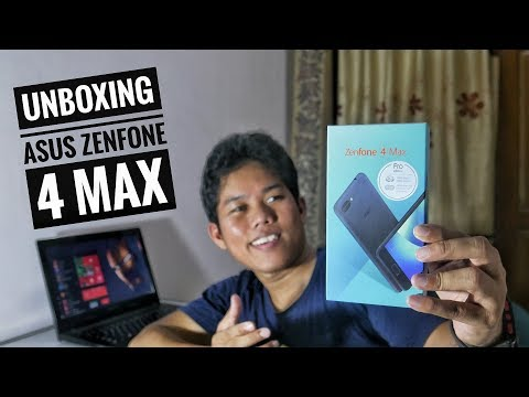 ASUS Zenfone 4 Max Pro Unboxing Indonesia