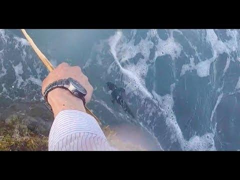 【奇跡】髪の毛で釣りをしたら・・・ 島で遭難#2