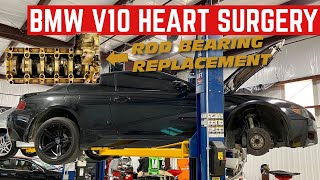 When Striking Gold Is BAD? CHEAP BMW M6 Rod Bearing Replacement