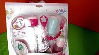 Розпакування Набору аксесуарів для ляльки BABY BORN ''Качині історії'' 822173 з Babytut.by