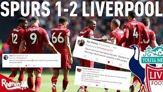 Spurs v Liverpool 1-2 | #LFC Fan Twitter Reactions