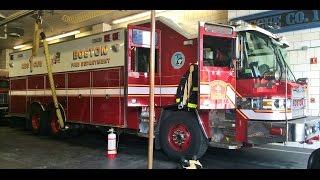 Boston Fire Ride Along with Rescue 1