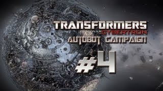 Transformers War for Cybertron Walkthrough - Autobot Campaign Part 4 - G1 Sideswipe