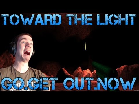 Toward the Light - GOGET OUTNOW - Short Indie Horror Game CommentaryFacecam reaction