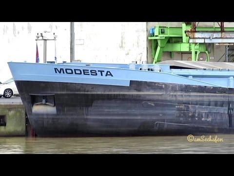 MODESTA PI3904 MMSI 244770416 Emden Germany ship vessel general cargo Binnenschiff Frachtschiff Schi