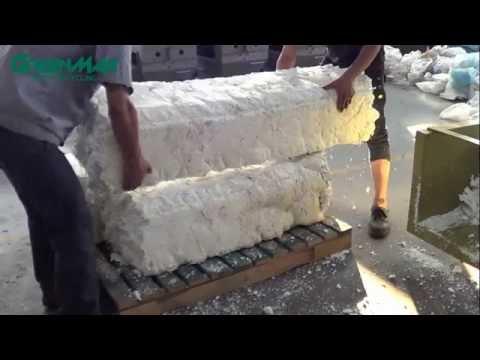 Recycling Polystyrene/ Styrofoam Packaging Machine - GREENMAX