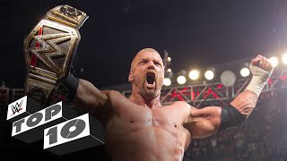 Triple H's 25 greatest moments: WWE Top 10 Special Edition