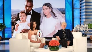 kim kardashian plays is kanye happy here?""