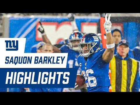 Saquon Barkley's 2019 FULL Season Highlights | New York Giants