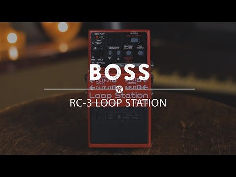 Boss RC-3 Loop Station | Reverb Demo Video
