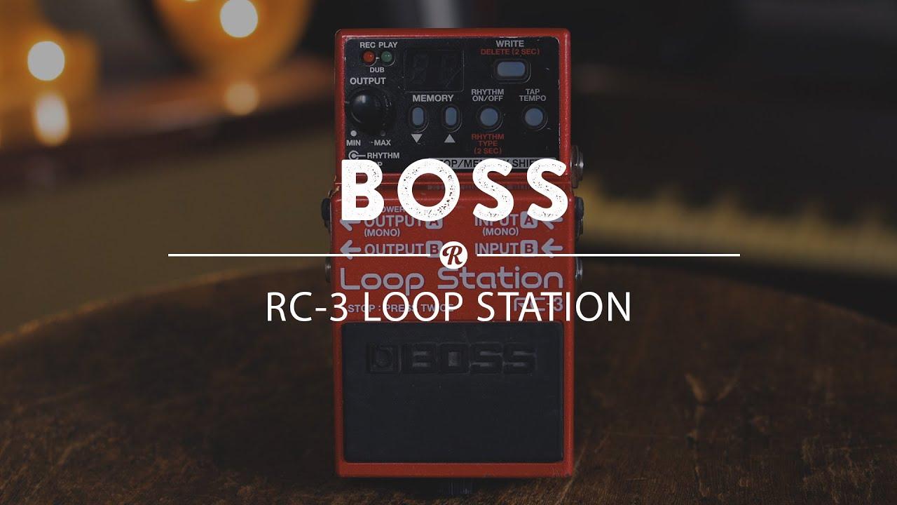 boss rc 3 loop station reverb demo video youtube. Black Bedroom Furniture Sets. Home Design Ideas