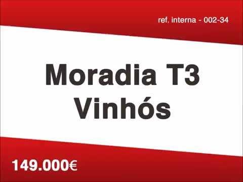 002-34 Moradia T3 em Vinhós