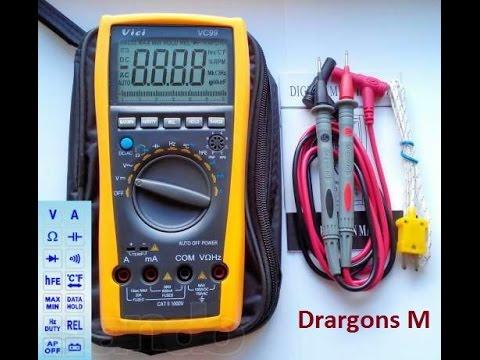 Как проверить конденсатор мультиметром. ESR метр схемы