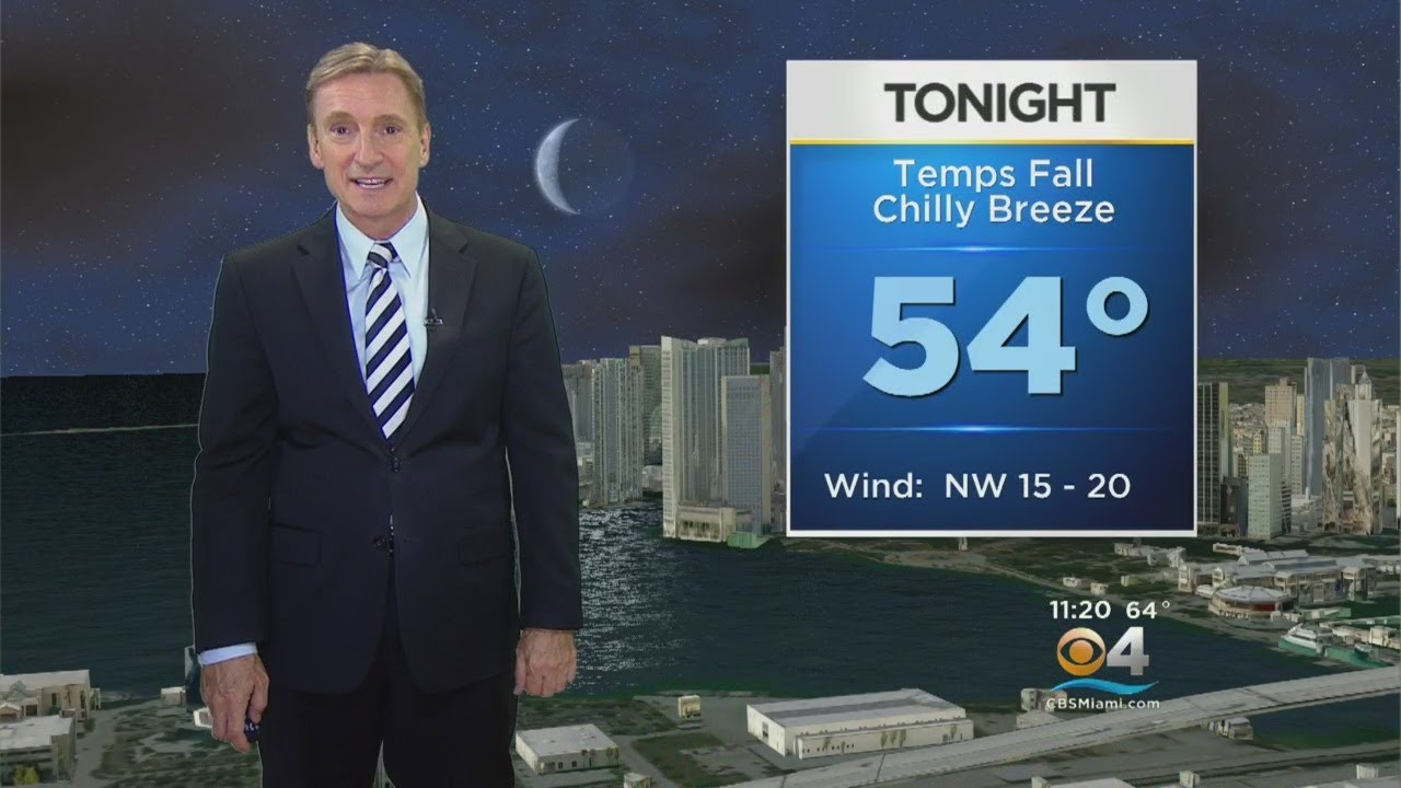 CBSMiami.com Weather @ Your Desk 3-12-18 11PM