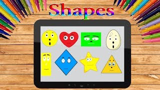 shapes song | kids songs|Picaboo