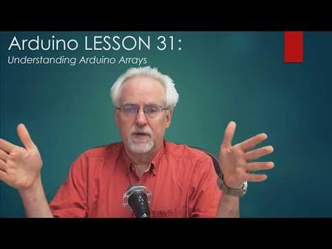 LESSON 31: Understanding Arduino Arrays