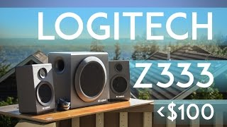 Logitech Z333 Review (Best Speakers Under $100?) 2016