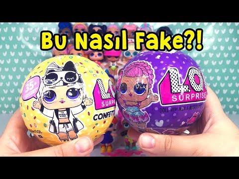 Fake LOL VS Gerçek LOL Confetti POP Wave 2 Challenge