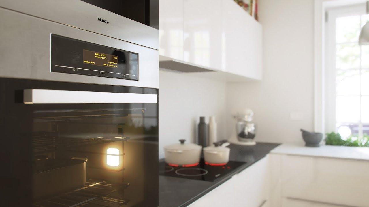 Kitchen Corner - 3D Animation - YouTube