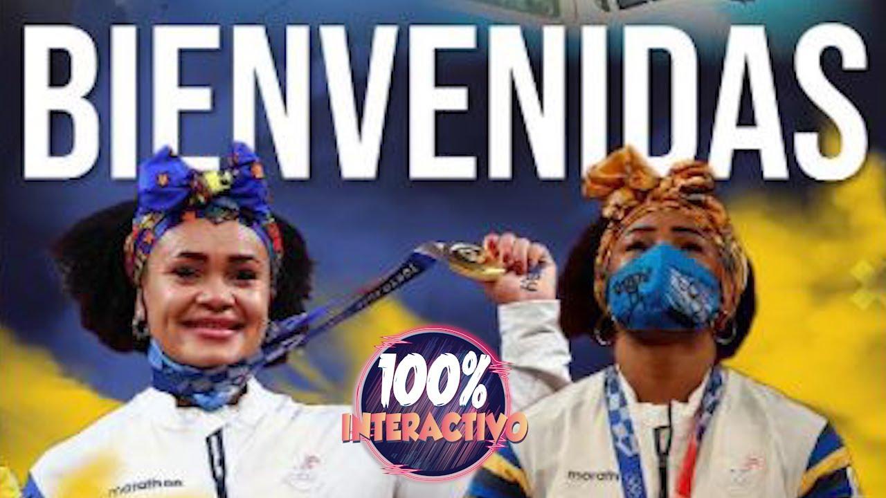 Neisi Dajomes y Tamara Salazar arribaron a Quito