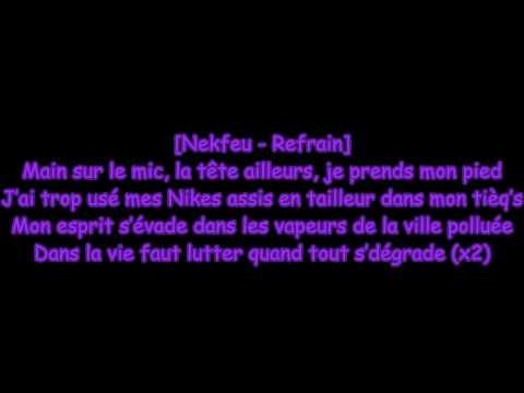 Paroles - Nekfeu ft Krimsa / La main sur le mic