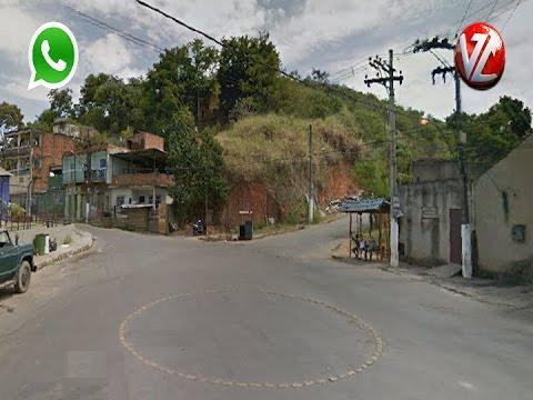 WhatsApp TV Voz - Drogas apreendidas no bairro Belo Horizonte