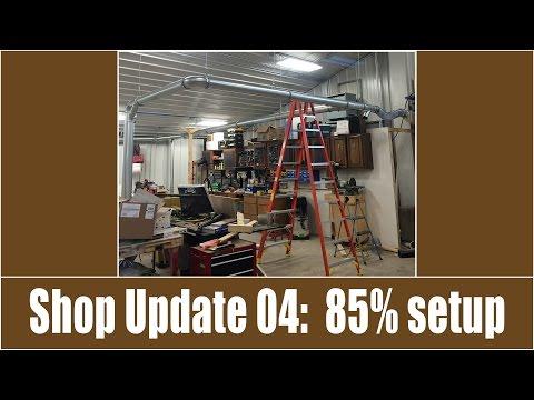Shop Update 04: New shop is 85% setup