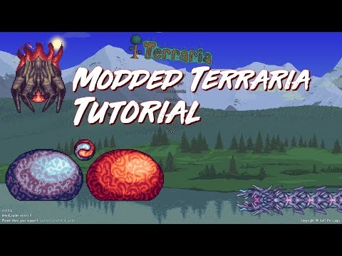 (How To Install Mods For Terraria 1.3!) (Calamity, Thorium)