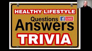 Healthy lifestyle trivia -