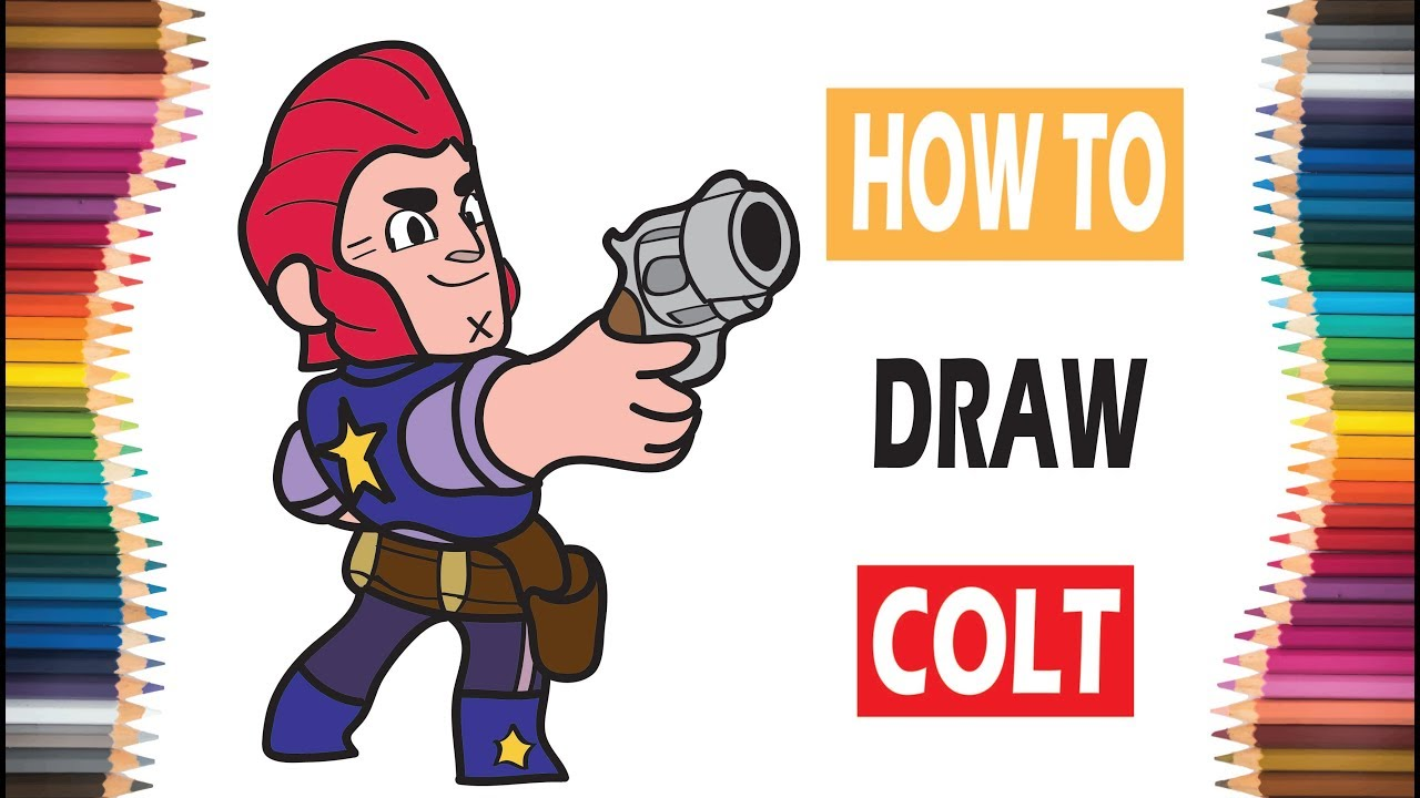 Brawl Stars Videos For Kids Desenhos Para Colorir