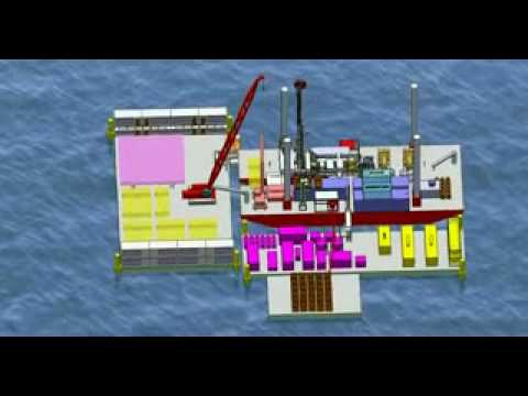 SEDLAR + Lift Boat - Shallow Offshore Configuration