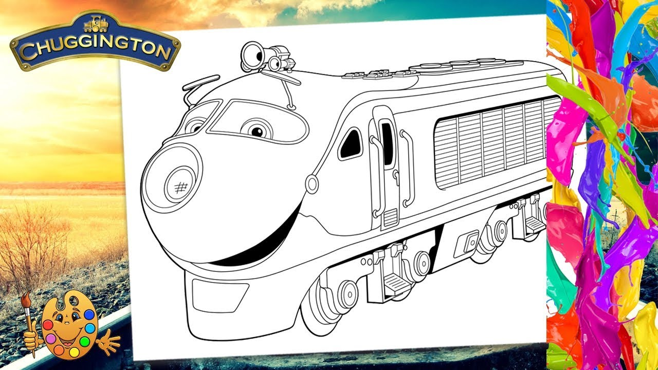 Chuggington : Koko | Coloring pages for kids | Coloring book | - YouTube