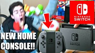 NINTENDO SWITCH (NX) LIVE REACTION! INSANE FREAK OUT! [BRAND NEW CONSOLE REVEALED!]