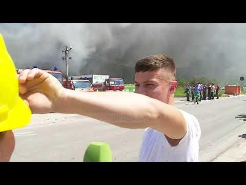 Digjet fabrika e riciklimit, tym toksik në Tiranë - Top Channel Albania - News - Lajme