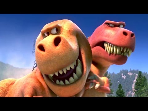 """Get out of your sister's bubble"" THE GOOD DINOSAUR Movie Clip"