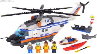 LEGO City Heavy-duty Rescue Helicopter 🚁 Coast Guard set 60166