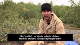Fjällräven - Ako opraviť stan