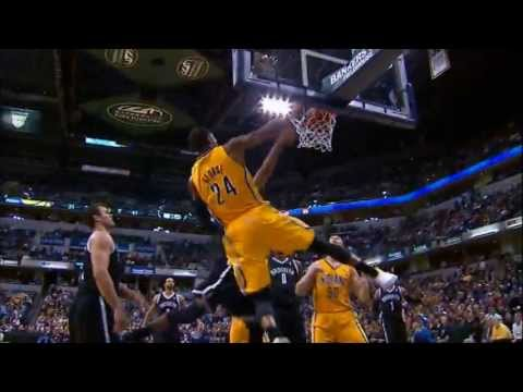 2012-2013 Indiana Pacers Season Highlights Volume 1