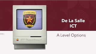 A Level ICT