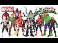 Ultimate Spider Man Vs The Sinister 6 Venom Carnage Green Goblin Avengers Hulk Unboxing mp3
