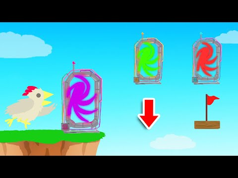 Only ONE Teleport Is SAFE! (Ultimate Chicken Horse)