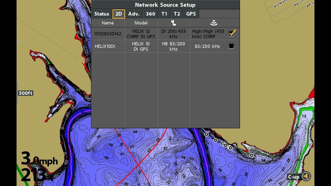 tips n tricks 173 humminbird helix network sonar sharing options [ 1280 x 720 Pixel ]